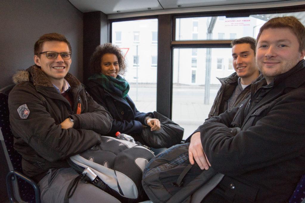 Besichtigung Syskron - Busfahrt